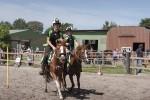 Vorführung der Mounted Games