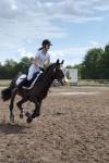 "Pia Ringat im ""Pony""-Rennen"
